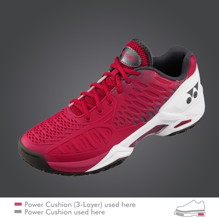 Pánská tenisová obuv Yonex Power Cushion Eclipsion 2, dark pink