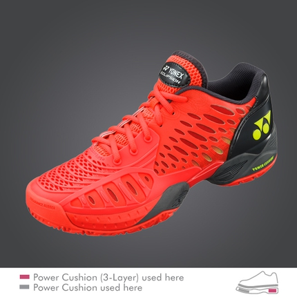 Pánská tenisová obuv Yonex Power Cushion Eclipsion, red