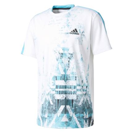 Pánské tenisové tričko Adidas Essex Trend Tee, white
