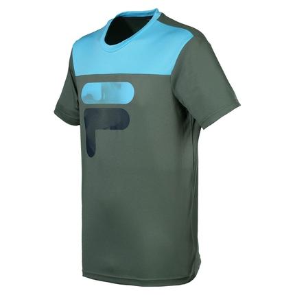 Pánské tenisové tričko Fila T-Shirt Tim, army