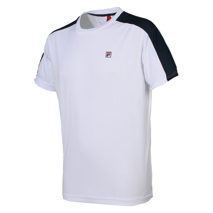 Pánské tenisové tričko Fila Shirt Soho, white