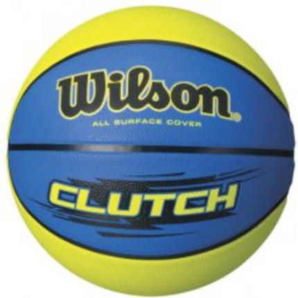 Cvičební pomůcky - Basketbalový míč Wilson Clutch 295, blue