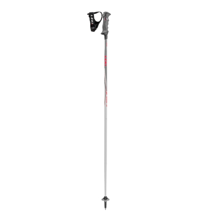 Lyžařské hole Leki Speed S Airfoil, white/red, 2017/18
