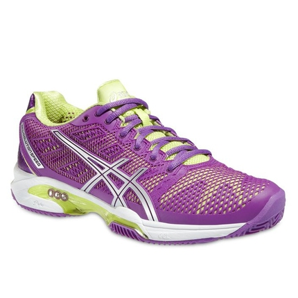 Dámská tenisová obuv Asics Gel-Solution Speed 2 Clay, grape