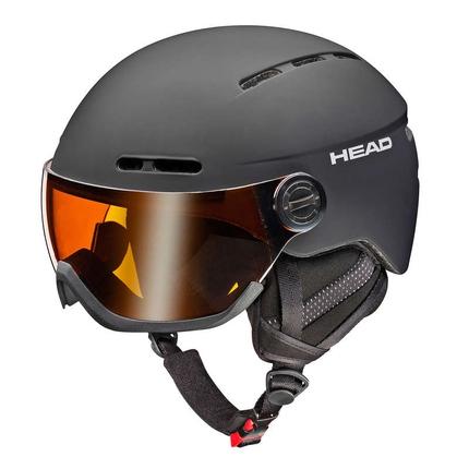 Lyžařská helma Head Knight 2017/18, black