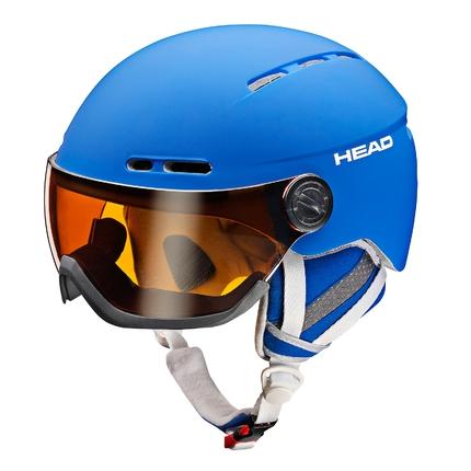 Lyžařská helma Head Knight 2017/18, blue
