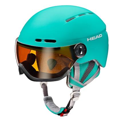 Lyžařská helma Head Queen 2017/18, turquoise