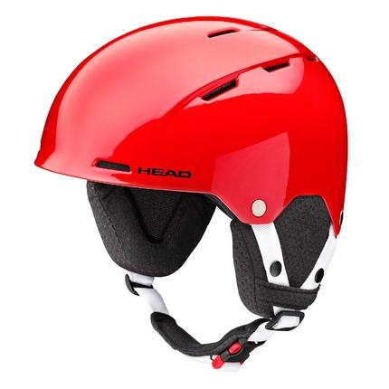 Dětská lyžařská helma Head Taylor 2017/18, red