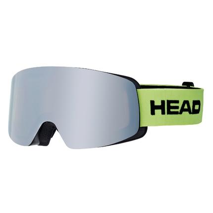 Lyžařské brýle Head Infinity Race lime + náhradní skla