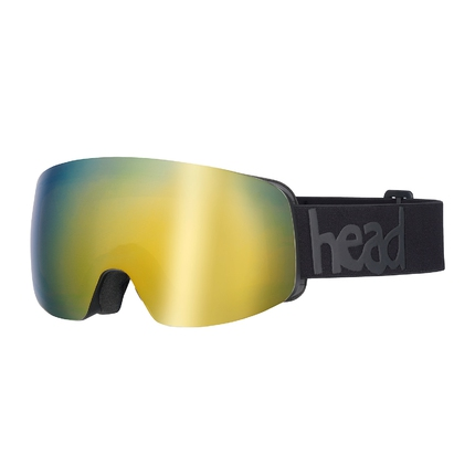 Lyžařské brýle Head Galactic FMR gold + náhradní skla