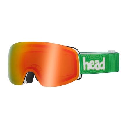 Lyžařské brýle Head Galactic FMR, yellow/red