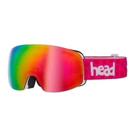 Lyžařské brýle Head Galactic FMR, pink