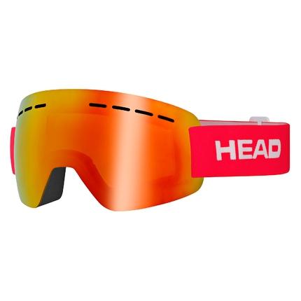Lyžařské brýle Head Solar FMR, red