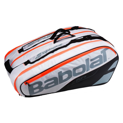 Tenisová taška Babolat Pure Strike Racket Holder X12 white, 2017