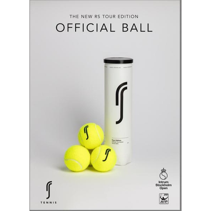 Tenis - Tenisové míče RS Tour Edition 4 ks, 3 + 1 zdarma