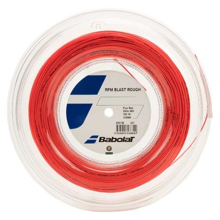 Tenisový výplet Babolat RPM Blast Rough 200m, fluo red