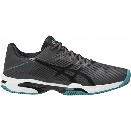 Pánská tenisová obuv Asics Gel-Solution Speed 3 Clay, dark grey
