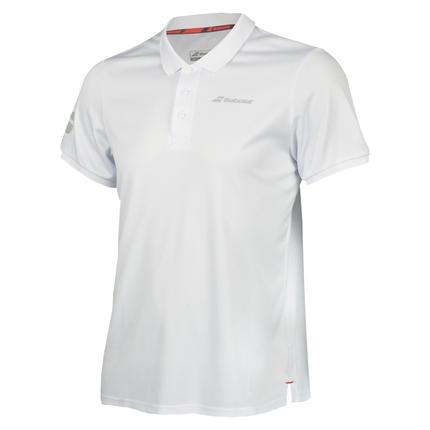 Pánské tenisové tričko Babolat Core Club Polo, white