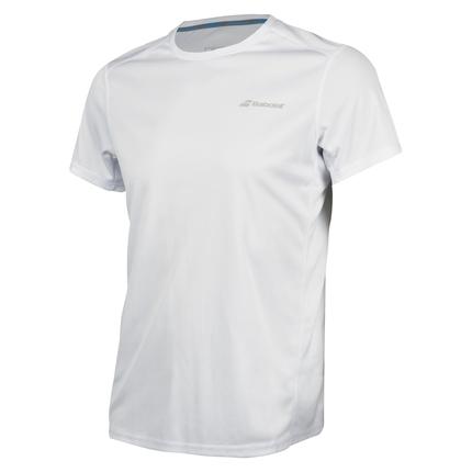 Pánské tenisové tričko Babolat Core Flag Club Tee, white