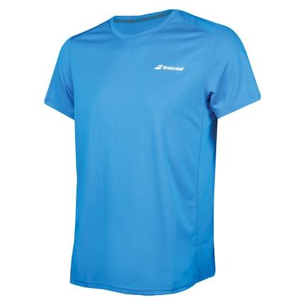 Pánské tenisové tričko Babolat Core Flag Club Tee, light blue