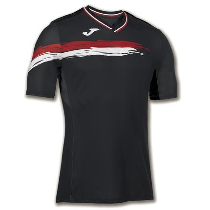 Pánské tenisové tričko Joma Camiesto Picasho, black