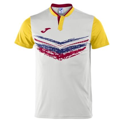 Pánské tenisové tričko Joma Camiseta Terra II, white