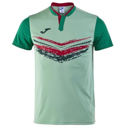 Pánské tenisové tričko Joma Camiseta Terra II, green