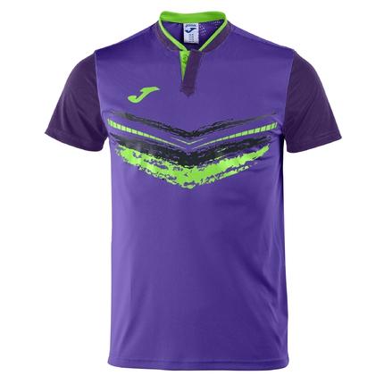 Pánské tenisové tričko Joma Camiseta Terra II, morado