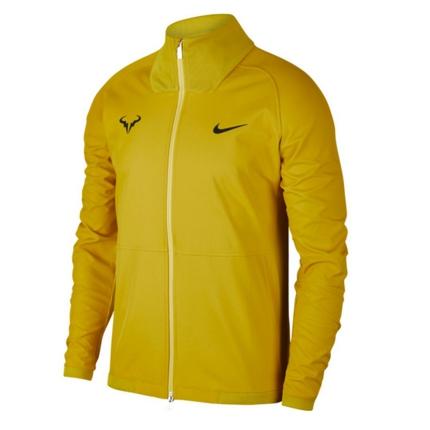Pánská tenisová bunda Nike Rafa Jacket, bright citron
