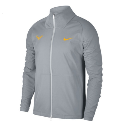 Pánská tenisová bunda Nike Rafa Jacket, pure platinum