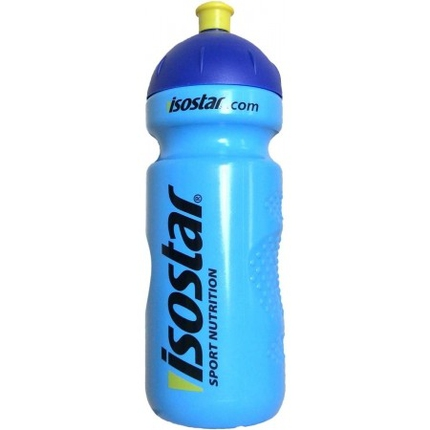 Láhev na pití Isostar 650 ml, uzávěr cyklistický, blue