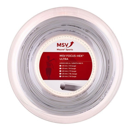 Tenisový výplet MSV Focus Hex Ultra 200m, white