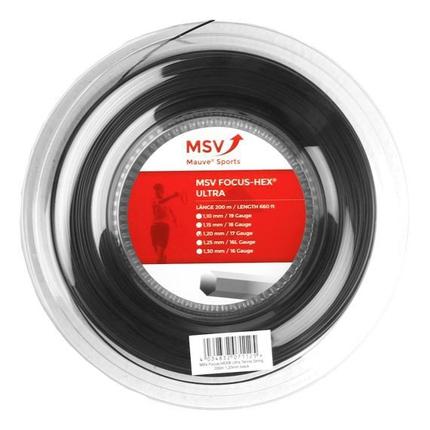 Tenisový výplet MSV Focus Hex Ultra 200m, black