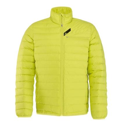 Lyžování - Pánská lyžařská bunda Head Race Dynamic Jacket, yellow
