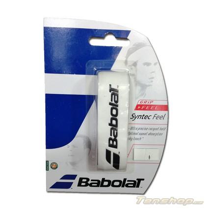 Základní grip Babolat Syntec Feel, white