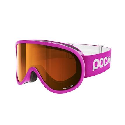 Lyžařské brýle POC POCito Retina 2018/19, fluorescent pink