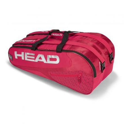 Tenisová taška Head Elite 9R Supercombi, red