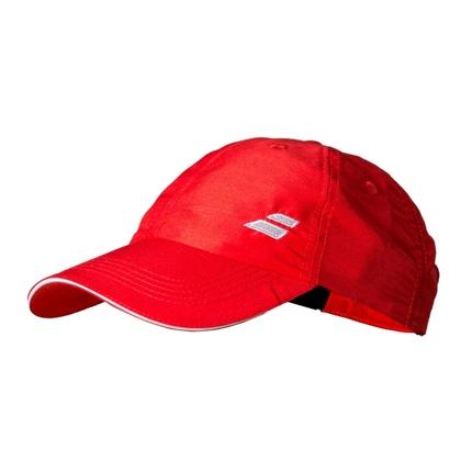 Tenisová kšiltovka Babolat Cap Basic Logo, fluo red