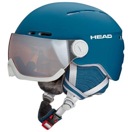 Lyžařská helma Head Queen 2018/19, petrol