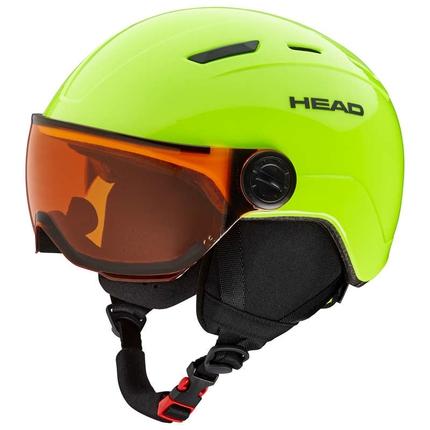 Dětská lyžařská helma Head Mojo Visor, lime