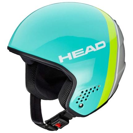 Lyžařská helma Head Stivot Race Carbon 2018/19, turq