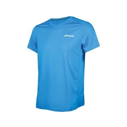 Dětské tenisové tričko Babolat Flag Tee Boy Core Club, petrol blue