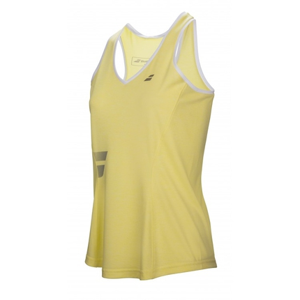 Dámské tenisové tílko Babolat Core Women Crop, lime washed