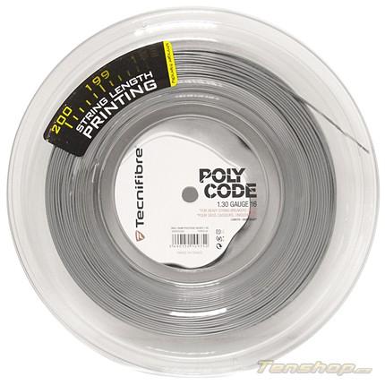 Tenisový výplet Tecnifibre Polycode 200m