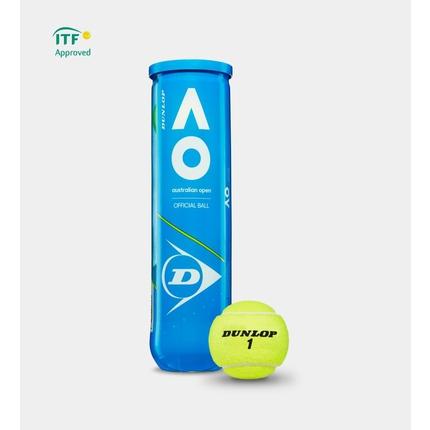 Tenisové míče Dunlop Australian Open, 4 ks