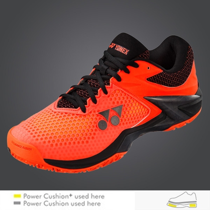 Pánská tenisová obuv Yonex Power Cushion Eclipsion 2, orange/black
