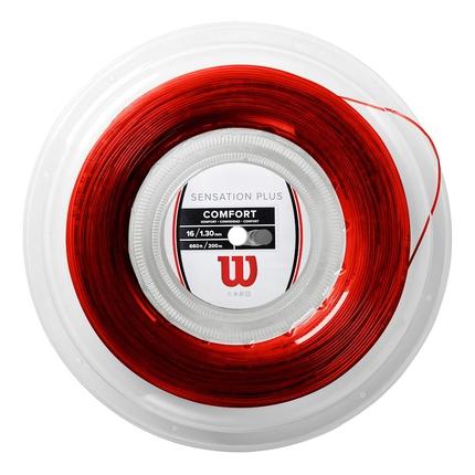 Tenisový výplet Wilson Sensation Plus 200m, red