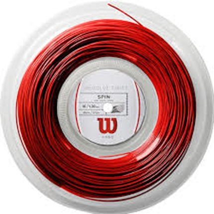 Tenisový výplet Wilson Revolve Twist 200m, red