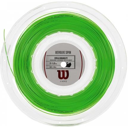 Tenisový výplet Wilson Revolve Spin 200m, green