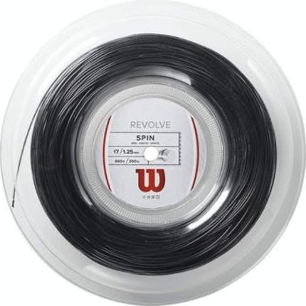 Tenisový výplet Wilson Revolve 200m, black